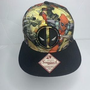Marvel Deadpool flat bill SnapBack. . OS